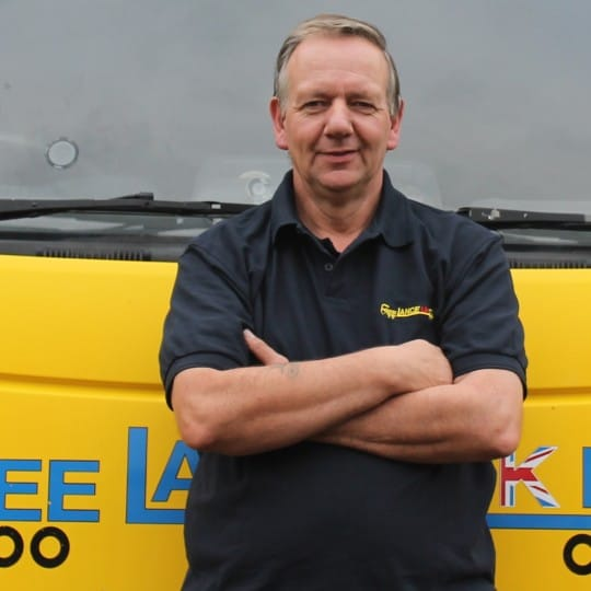 Ian - a driver for Freelance UK