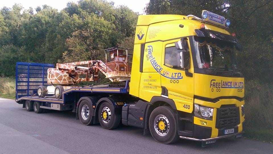 low loader haulage hire