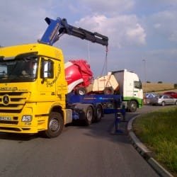 lorry loader access equipment