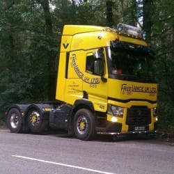 freelance haulage truck hire
