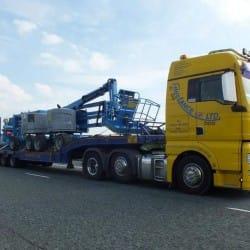 specialist haulage truck