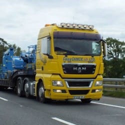 access equipment haulage truck