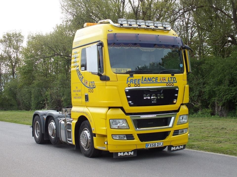 MAN truck for haulage solutions